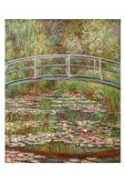 Water Lily Pond, 1899 Fine Art Print