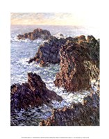 Rock Points at Belle-Ile, 1886 Fine Art Print