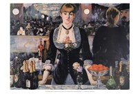 A Bar at the Folies-Bergere Fine Art Print