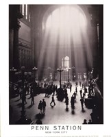 Penn Station Framed Print
