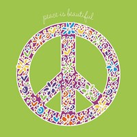 Peace is Beautiful Fine Art Print