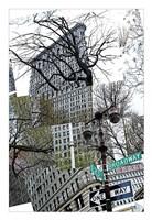 Flatiron Collage Fine Art Print