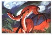 Red Deer II Fine Art Print