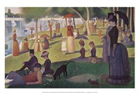 Sunday Afternoon on the Island of Grand Jatte 1864-6 Fine Art Print
