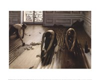 The Floor Scrapers [Raboteurs de parquet], 1875 Fine Art Print