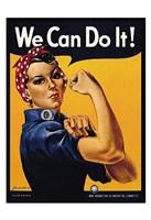 We Can Do It! Fine Art Print