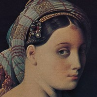 The Grand Odalisque (detail) Fine Art Print