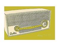 Lunastrella Radio Framed Print
