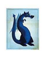 Blue Dragon Fine Art Print