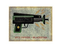 Blackstar Ray Gun Fine Art Print