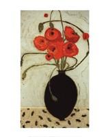 Swirling Poppies Fine Art Print
