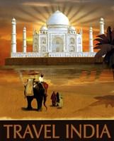 Travel India Fine Art Print