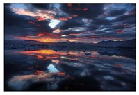 Icelandic Sunset Fine Art Print