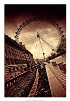 London Eye Fine Art Print