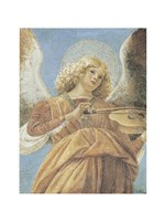 Angel with Violin Fine Art Print