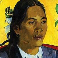 Woman With Flower (detail) Fine Art Print