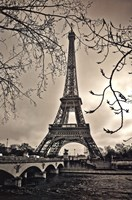 Curves of Eiffel Fine Art Print