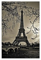 Curves of Eiffel Fine Art Print