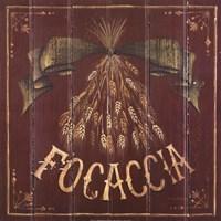 Focaccia Framed Print
