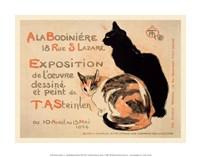 A la Bodiniere/Exposition Steinlen Fine Art Print