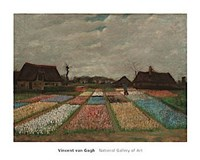 Flower Beds in Holland, c. 1883 Fine Art Print