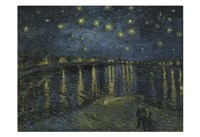 Starry Night Over the Rhone Fine Art Print