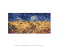 Wheatfield with Crows, 1890 Fine Art Print