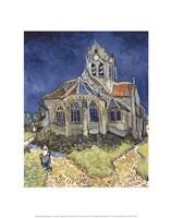 The Church at Auvers Fine Art Print