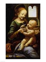 Madonna Benois, c.1478 Fine Art Print