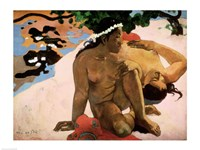 Aha oe Feii  (Are You Jealous), 1892 Fine Art Print