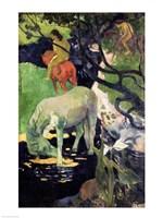 The White Horse, 1898 Fine Art Print