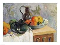 Teiera, Brocca e Frutta, 1899 Fine Art Print