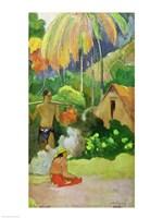 Landscape in Tahiti Fine Art Print