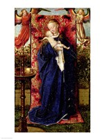 Madonna at the Fountain, 1439 Fine Art Print
