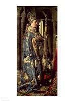 The Arnolfini Marriage, detail Fine Art Print