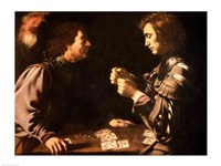 The Gamblers Fine Art Print