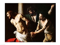 The Flagellation of Christ, c.1605-7 Fine Art Print