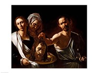 Salome Receives the Head of Saint John the Baptist, 1607-10 Fine Art Print