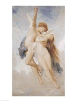 Cupid and Psyche, 1889 Framed Print