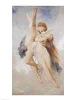 Cupid and Psyche, 1889 Fine Art Print