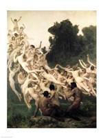 The Oreads, 1902 Fine Art Print