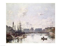 The Port of Trade, Le Havre, 1892 Fine Art Print