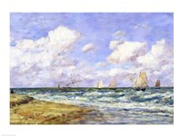 Marine scene, 1894 Fine Art Print