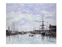 Deauville, the Dock, 1892 Fine Art Print