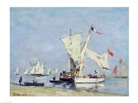 Sailing Boats, c.1869 Fine Art Print