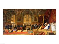 The Reception of Siamese Ambassadors by Emperor Napoleon III Fine Art Print