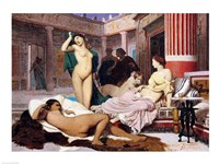 Greek Interior, 1848 Fine Art Print