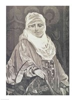 'La Favorita'- Woman with a Veil Fine Art Print