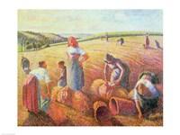 The Gleaners, 1889 Fine Art Print