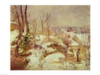 Snow Scene Fine Art Print